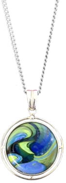 ashes in glass pendant by lorna reade